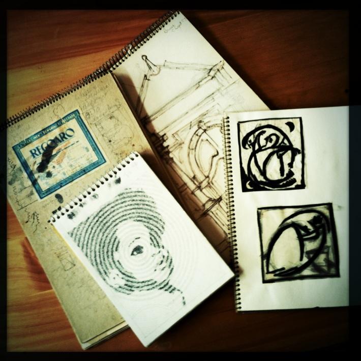 Jim's Sketchbooks