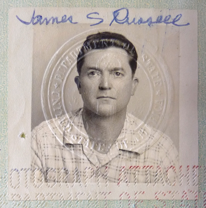 Passport Photo, 1955