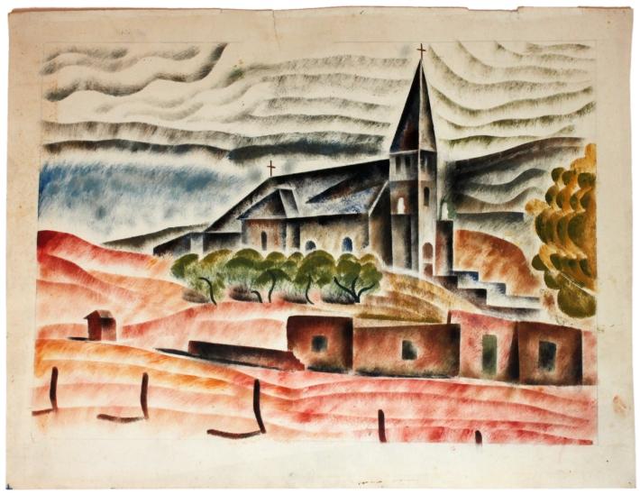 San Ignacio, Albuquerque, New Mexico, circa 1935