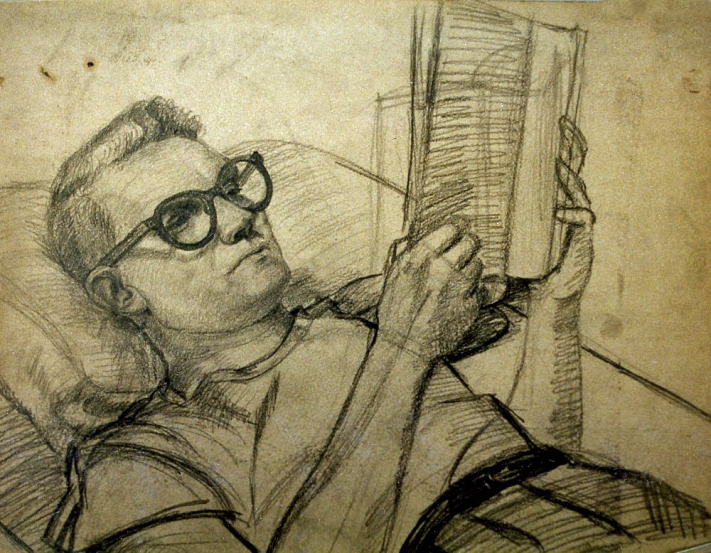 Self Portrait, circa 1955
