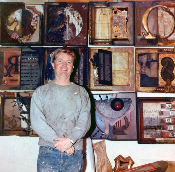 Jim in NYC Studio, Circa 1965