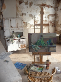 Diane Tesler's Studio